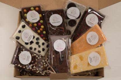 Chocolate blocks handmade in adelaide