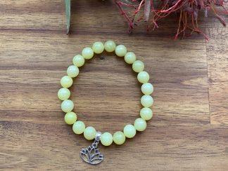 lemon jade gemstone bracelet adelaide