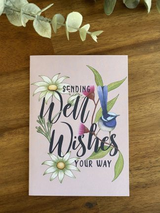 well wishes greeting card eco friendly